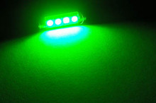 LED Tubular/Festoon Verde