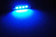 LED Tubular/Festoon Azul
