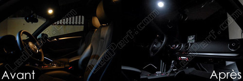 Pack Full Leds Interior Para Audi A3 8v