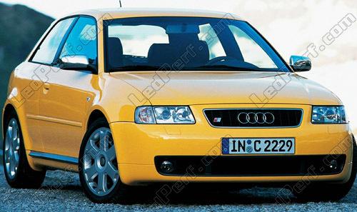 Pack Leds Luzes De Presen U00e7a  M U00ednimos  Para Audi A3 8l