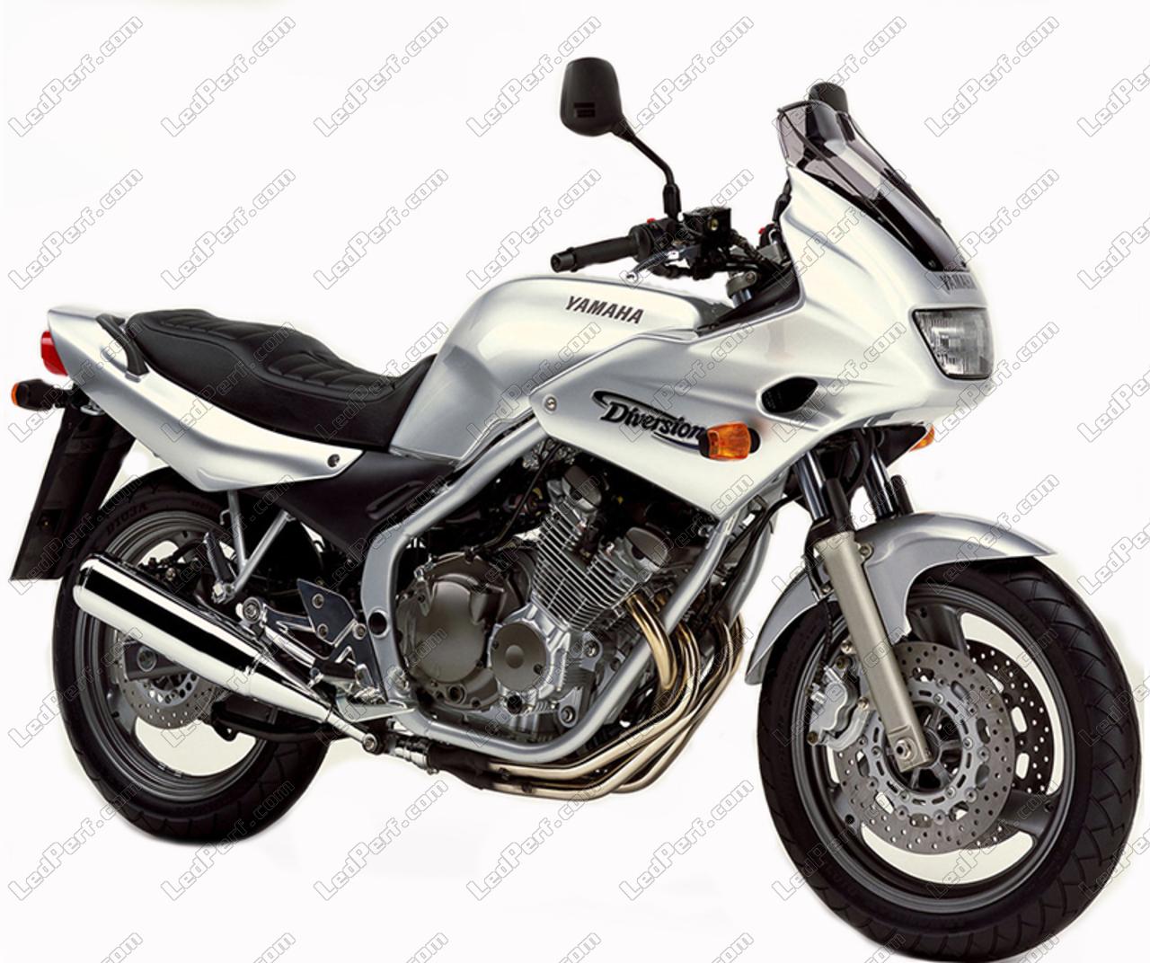 Lâmpada Led Para Yamaha Xj 600 S Diversion