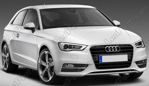 Pack Piscas Leds Cromados Para Audi A3 8v