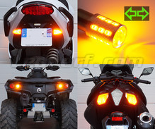 Pack piscas traseiros LED para Harley-Davidson Road King Custom 1450