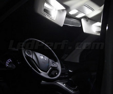 Pack interior luxo full LEDs (branco puro) para Honda CR-V 4