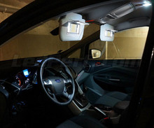 Pack interior luxo full LEDs (branco puro) para Ford C-MAX MK2