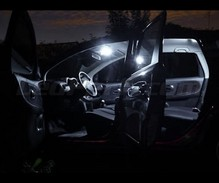 Pack interior luxo full LEDs (branco puro) para Nissan Note