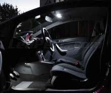 Pack interior luxo full LEDs (branco puro) para Ford Fiesta MK7