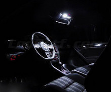 Pack interior luxo full LEDs (branco puro) para Volkswagen Golf 6 - Light