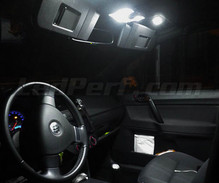 Pack interior luxo full LEDs (branco puro) para Volkswagen Polo 9N3