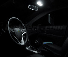 Pack interior luxo full LEDs (branco puro) para Chevrolet Cruze