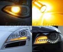 Pack piscas dianteiros LED para Volkswagen Polo 9N3